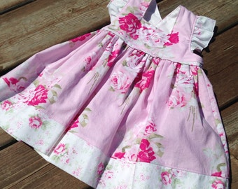 SALE! 9 month and size 5 dress for baby, toddler girls - spring dress - boutique toddler dress - Easter dress - baby dress - toddler dress