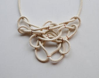 necklace ORGANIC ROPE II