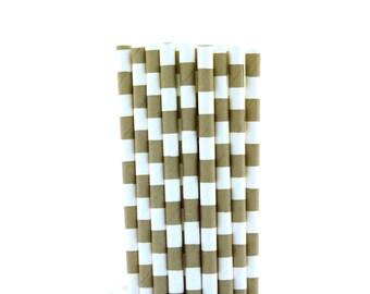 Grey Rugby Horizontal Striped Paper Straws-Grey Straws-Shabby Chic Party Straws-London Birthday Party Decor-Wedding Reception Straws