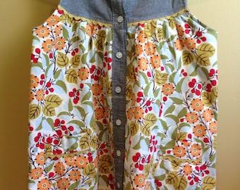 Used girls tunic dress size 8/10
