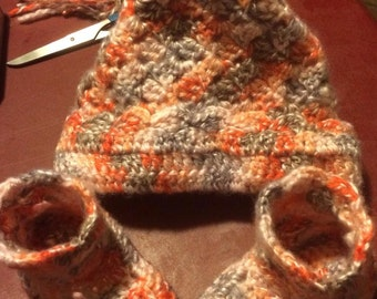 Baby Hats & Bootie Sets