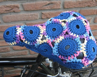 Crochet Bicycle Seat Cover - Crochet Bike Saddle…