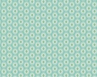 Half Yard - 1/2 Yard of Oval Elements Zephyr- Art Gallery Fabrics