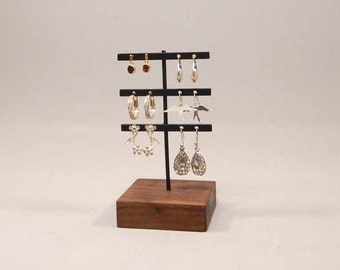 Earring Organizer, Earring Stand, Earring Display, Earring Holder, Jewelry Stand, Jewelry Display, Modern Jewelry Display, Steel Stand 101