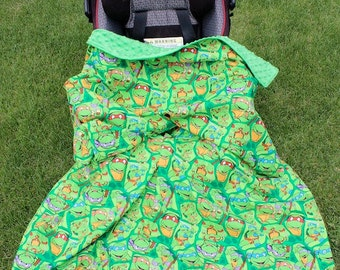 Convertible Carseat Blanket