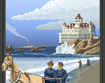 Cliff House San Francisco (Art Prints available in multiple sizes)