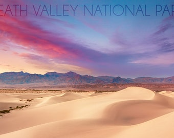 Death Valley National Park - Mesquite Dunes (Art Prints available in multiple sizes)