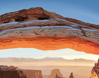 Utah - Canyonlands View (Art Prints available in multiple sizes)