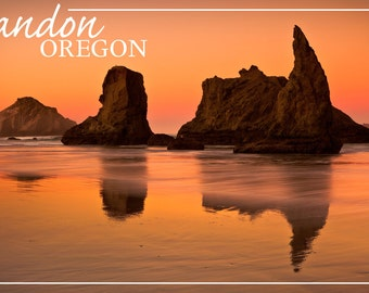 Bandon, Oregon Sunset (Art Prints available in multiple sizes)