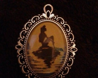 Little Mermaid Cameo necklace