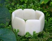 Save 10.00! Ivory Polished Tagua Nut Bracelet - On Sale