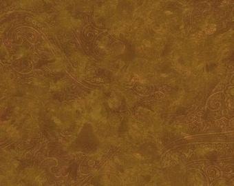 RJR Fabrics Chelsea 2104 41 Paisley Copper Yardage by Jinny Beyer