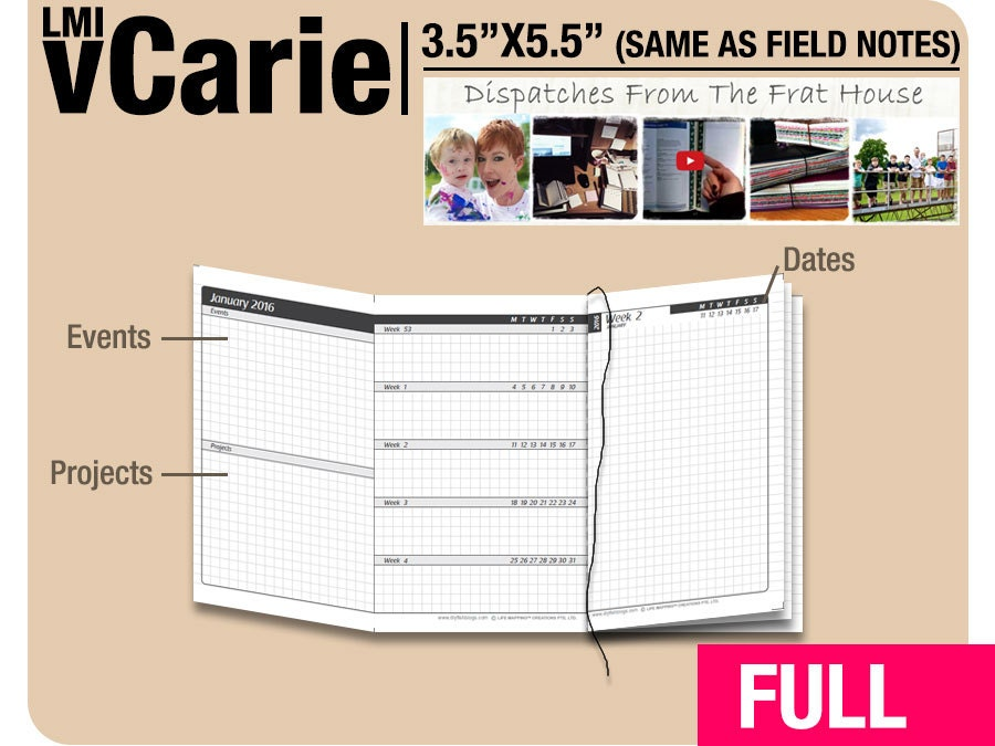Field notes coupon 2018
