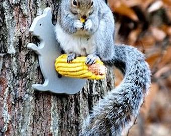 Squirrel Silo Corn Feeder