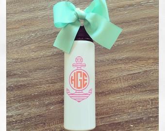 Personalized 28oz Aluminum Water Bottle {white}