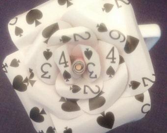 Playing Card Rose