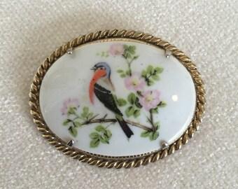 CLEARANCE SALE Vintage Bird Brooch