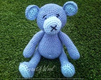 Crochet Teddy - Pear Bear
