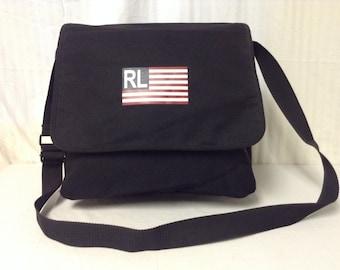 Polo Ralph Lauren, Messenger bag,Shoulder Bag ,Black,bag,purse