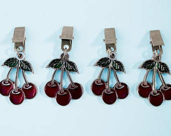Cherry Tablecloth Weights: A Seriously Fun Way To Adorn Your Table, These  Feature Three