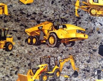 "Last Piece, 16"" of Fabric Material - Construction Site Equipment CAT"