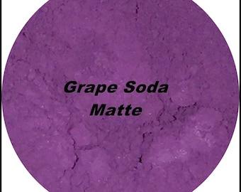 Matte Eyeshadow Grape Soda Mineral Makeup Eye Shadow 1 gram