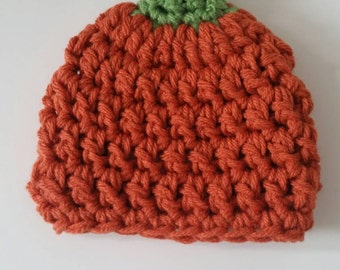 Baby/toddler pumpkin hat