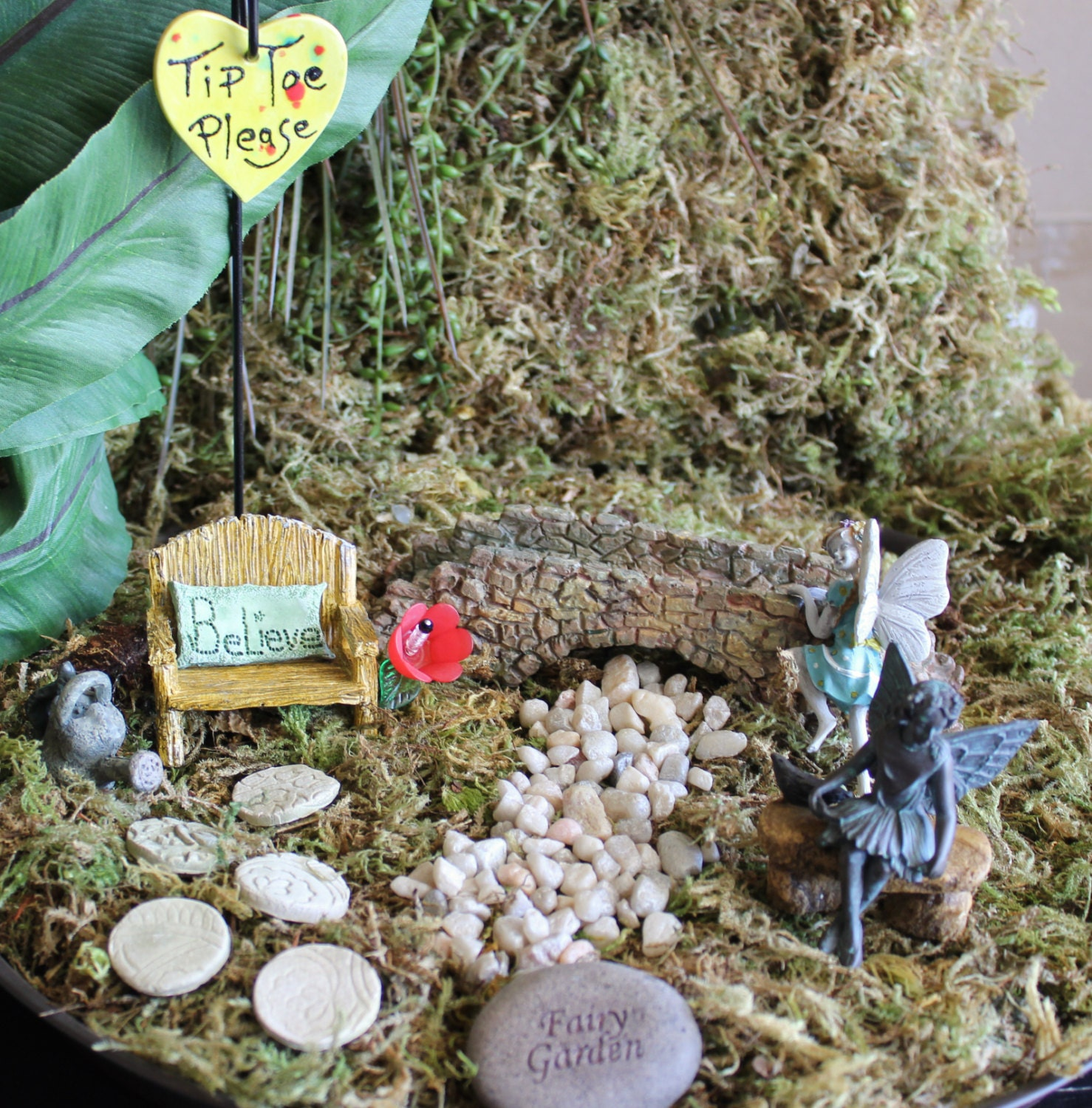 Fairy Garden Kit B by ImOwlOutofLove on Etsy