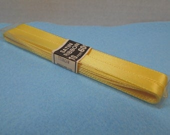 New Old Stock Offray Yellow Ribbon