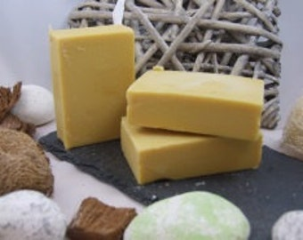 Triple Mint and Silk Soap