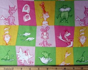 Per Yard, Dr. Seuss 2  Fabric From Robert Kaufman
