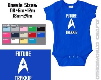 FUTURE TREKKIE - Star Trek Baby Onesie