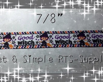 7/8 Good Witch Ribbon