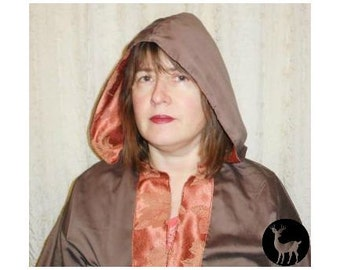 Brown and Orange Robes of Energy Awareness: Wicca, Wiccan, Witch, Pagan