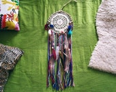 Bohemian Dreamcatcher - Very Gypsy - Wall Hanging Dream Catcher - Boho Hippie Bedroom Decor - Gypsy Decor - Made To Order
