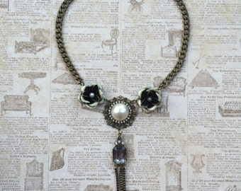 Great Gatsby Inspired Statement Necklace