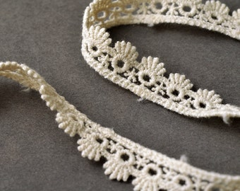 """1/2"""" Vintage Cluny Lace Trim by 3-Yards, TR-10971"""