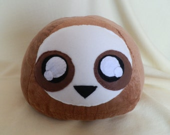 Cute Soft Sloth Pillow or Plush / Stuffed Sloth