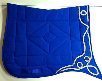 Baroque swallow tail saddle pad by The Painted Pony