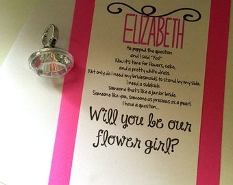 how to ask flower girl poem