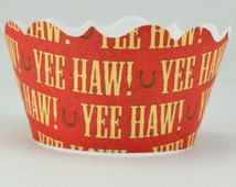 Yee Haw Cupcake Wrappers
