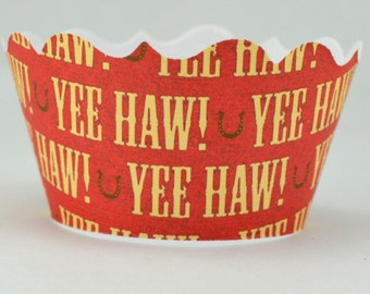 Yee Haw Cupcake Wrappers