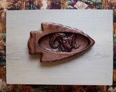 Ram Wood Carving inside A...