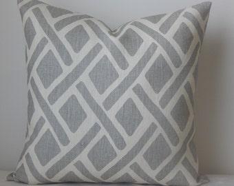 Treads Asphalt by Kravet pillow cover,throw pillow,decorative pillow,accent pillow,lumbar pillow,same fabric on front and back.