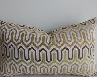 Sale! modern geometric 12x20 pillow or pillow cover, decorative pillow, accent pillow.