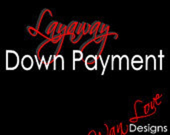Layaway/Payment Plans