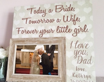 Father Of Bride Gift - Personalized Father Of Bride Gift - Personalized Gift For Dad - Wedding Gift For Dad - Gift Ideas For Dad