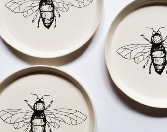 HONEY BEE Dinner Plate