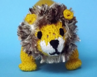 Toy Lion, plush lion, stuffed lion, soft lion, stuffed animal