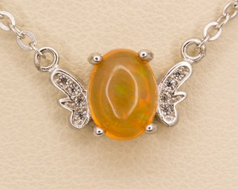 1ct Mexican Opal Sterling Silver Pendant (MO371P)